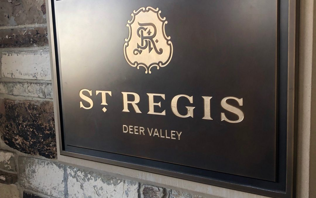 Spa-Peek: St. Regis – Deer Valley